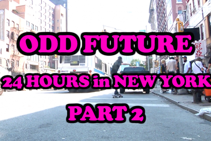 24 Hours With Odd Future in NYC Part 2 – Noisey Specials