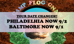Tour Date Changes