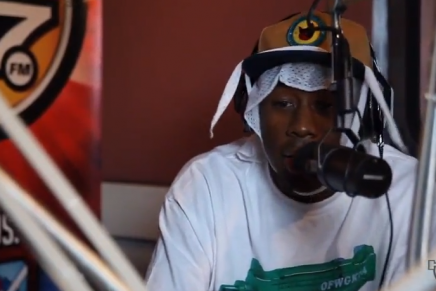 Tyler, The Creator Hot 97 Freestyle with Peter Rosenberg