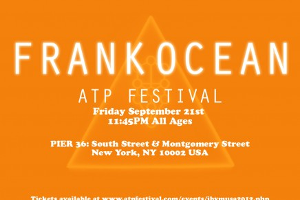 Frank at ATP Festval in NYC this weekend