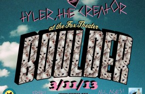 Tumblr presents: a FREE show with Tyler, The Creator