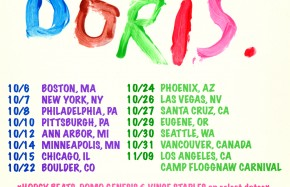 EARL SWEATSHIRT  - DORIS TOUR DATES