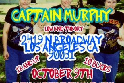 Tyler, The Creator & Captain Murphy @ Low End Theory Oct 9th