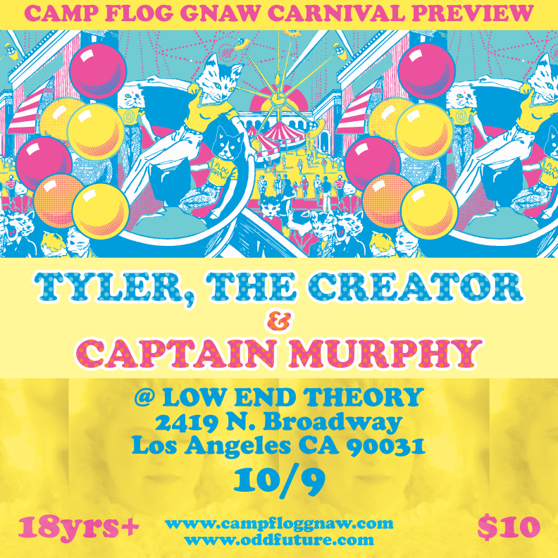 Top 30 Funny Minions Friendship Quotes together with Carnival Preview Low End Theory Tomorrow together with Tyler The Creators C  Flog Gnaw Carnival Is Back For Its Fifth Year likewise C  Flog Gnaw Tyler The Creator Donald Trump 1201917347 further Tyler The Creator. on odd future carnival 2016