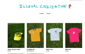 Illegal Civilization Online Shop
